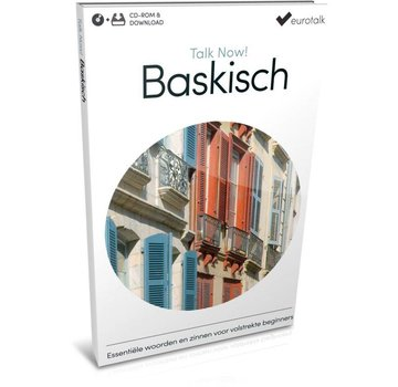 Eurotalk Talk Now Cursus Baskisch voor Beginners - Leer de Baskische taal (CD + Download)