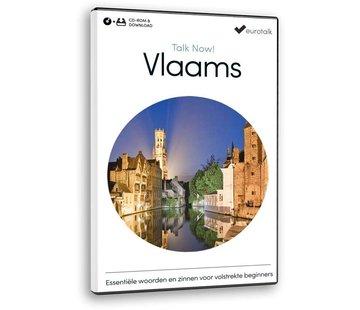Eurotalk Talk Now Cursus Vlaams voor Beginners | Leer de Vlaamse taal (CD + Downoad)