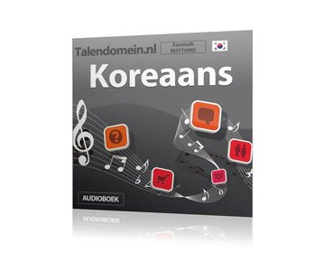 Eurotalk Rhythms Leer Koreaans voor beginners - Audio taalcursus (Download)