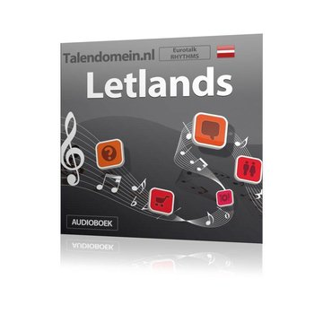 Eurotalk Rhythms Leer Letlands voor Beginners - Audio taalcursus (Download)
