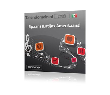Eurotalk Rhythms Leer Spaans Latijns Amerikaans voor Beginners - Audio taalcursus (Download)