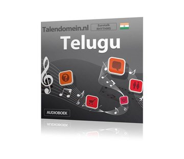 Eurotalk Rhythms Leer Telugu voor Beginners - Audio taalcursus (Download)
