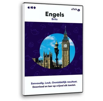 uTalk Online Taalcursus Engels leren ONLINE - Complete taalcursus Engels