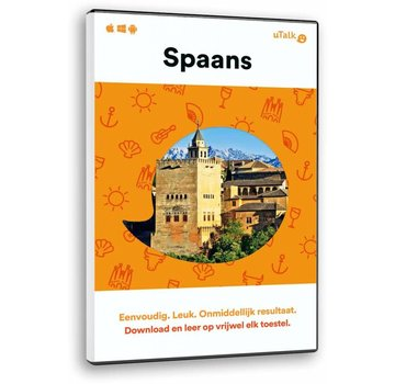 uTalk Spaans leren ONLINE -  Complete cursus Spaans