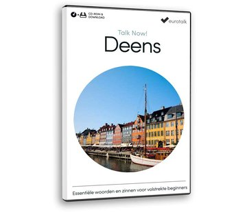Eurotalk Talk Now Cursus Deens voor Beginners - Leer de Deense taal (CD + Download)