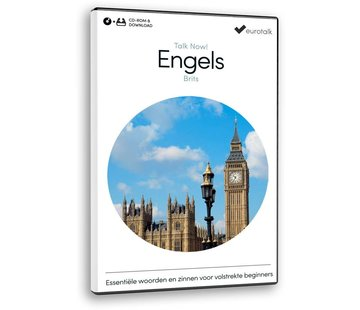 Eurotalk Talk Now Cursus Engels voor Beginners - Leer de Engelse taal