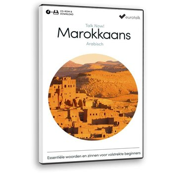 Eurotalk Talk Now Leer Marokkaans Arabisch voor Beginners