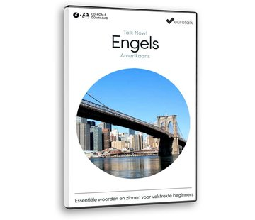 Eurotalk Talk Now Cursus Amerikaans Engels voor Beginners - Leer de Engelse taal (CD + Download)