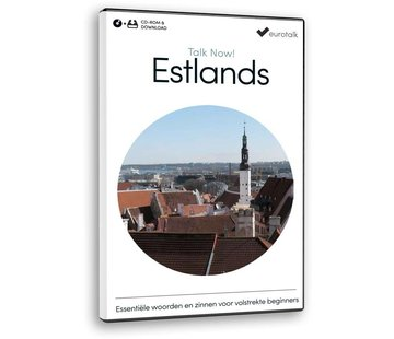 Eurotalk Talk Now Basis cursus Ests voor Beginners - Leer de Estlandse taal (CD + Download)