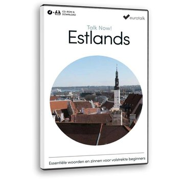 Eurotalk Talk Now Basis cursus Ests voor Beginners - Lees de Estlandse taal (CD + Download)