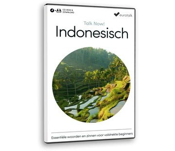 Eurotalk Talk Now Indonesisch voor Beginners - Leer de Indonesische taal (CD + Download)