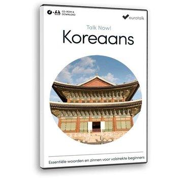 Eurotalk Talk Now Cursus Koreaans voor Beginners - Leer de Koreaanse taal