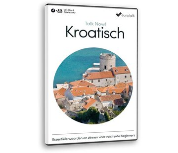Eurotalk Talk Now Basis cursus Kroatisch - Leer Kroatisch voor Beginners (CD + Download)