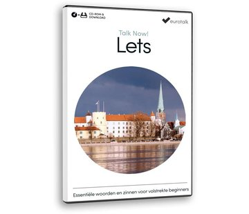 Eurotalk Talk Now Cursus Lets voor beginners - Leer de Letlandse taal