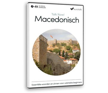 Eurotalk Talk Now Cursus Macedonisch voor Beginners | Leer de Macedonische taal (CD + Download)