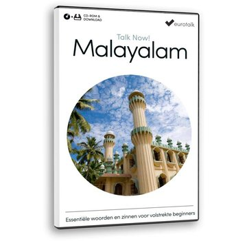 Eurotalk Talk Now Cursus Malayalam voor Beginners - Leer de Malayalam taal (CD + Download)