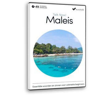Eurotalk Talk Now Leer Maleis! - Basis cursus Maleis voor Beginners (CD + Download)