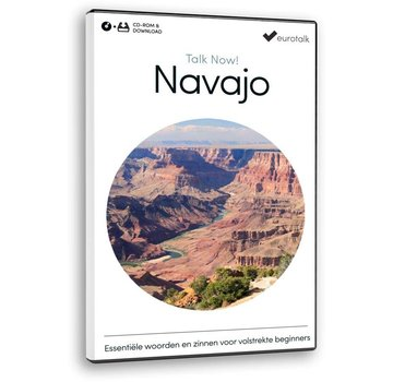 Eurotalk Talk Now Navajo leren voor Beginners - Basis taalcursus (CD + Download)
