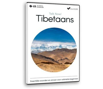 Eurotalk Talk Now Cursus Tibetaans voor Beginners | Leer de Tibetaanse taal (CD + Download)