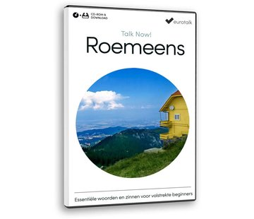 Eurotalk Talk Now Cursus Roemeens voor Beginners - Leer de Roemeense taal (CD + Download)