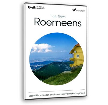 Eurotalk Talk Now Cursus Roemeens voor Beginners - Leer de Roemeense taal (CD+ Download)