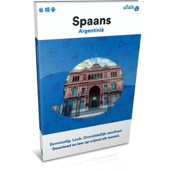 uTalk Online Taalcursus Leer Argentijns Spaans - Online taalcursus Spaans (Argentinië)