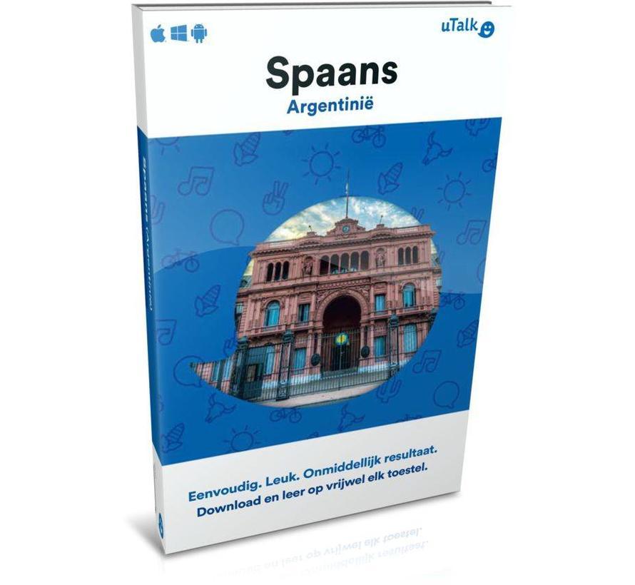 uTalk leer Argentijns Spaans - Online cursus