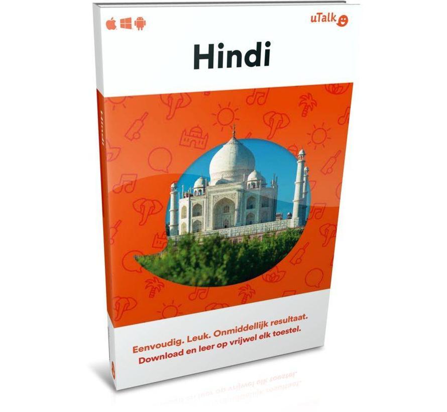 uTalk leer Hindi - Online cursus