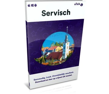 uTalk Leer Servisch online - uTALK Complete cursus Servisch