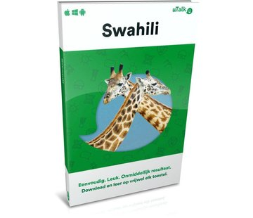 uTalk Swahili leren ONLINE - Complete taalcursus Swahili