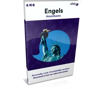 uTalk Online Taalcursus Leer Amerikaans Engels Online - Complete taalcursus
