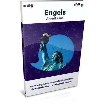 uTalk Online Taalcursus Amerikaans Engels leren ONLINE - Complete taalcursus