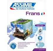 Assimil - Taalcursussen & Leerboeken Frans zonder moeite - Leerboek + Audio CD's