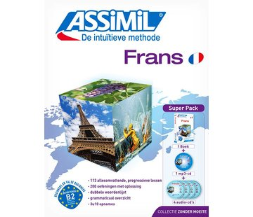 Assimil Frans zonder moeite - Leerboek + Audio CD's
