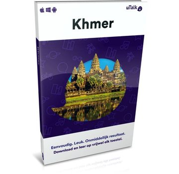 uTalk Kherm leren ONLINE - Complete cursus Khmer (Cambodjaans)