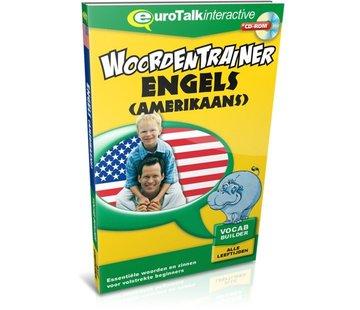 Eurotalk Woordentrainer ( Flashcards) Cursus Amerikaans Engels voor kinderen  - Woordentrainer