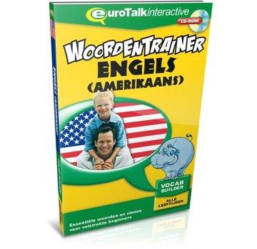 Eurotalk Woordentrainer ( Flashcards) Cursus Amerikaans Engels voor kinderen