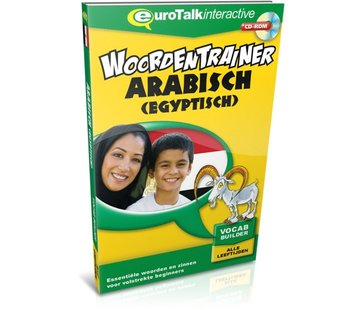 Eurotalk Woordentrainer ( Flashcards) Arabisch voor kinderen - Woordentrainer Egyptisch Arabisch