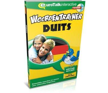 Eurotalk Woordentrainer ( Flashcards) Duits leren voor kinderen - Woordentrainer Duits
