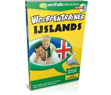 Eurotalk Woordentrainer ( Flashcards) Cursus IJslands voor kinderen - Flashcards
