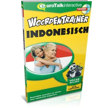 Eurotalk Woordentrainer ( Flashcards) Cursus Indonesisch voor kinderen - Flashcards
