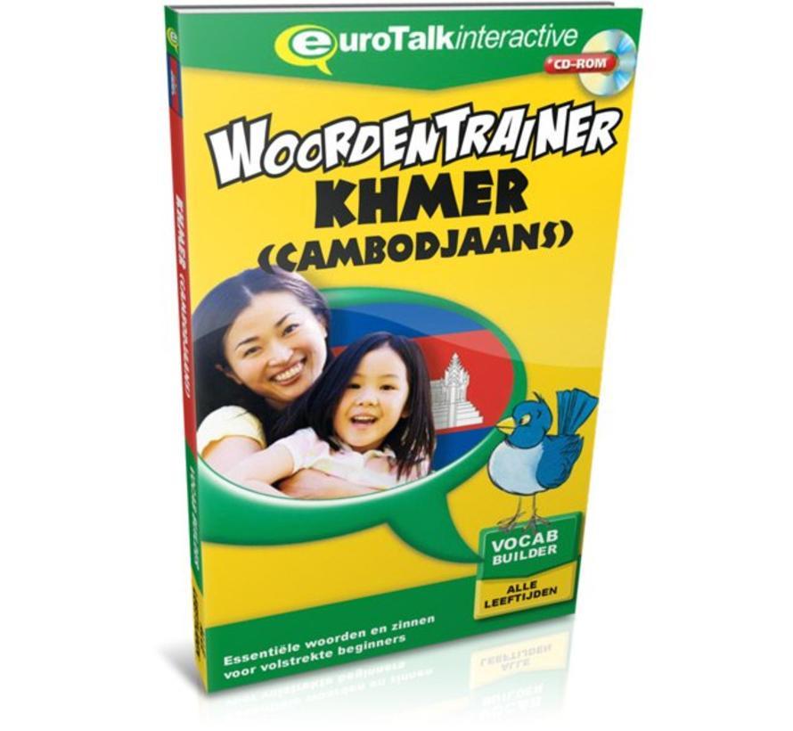 Khmer voor kinderen - Woordentrainer Khmer