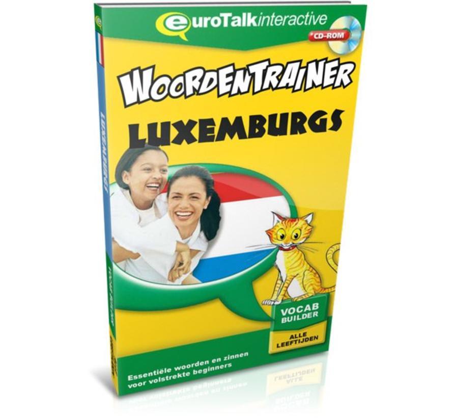 Luxemburgs voor kinderen - Woordentrainer Luxemburgs