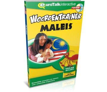 Eurotalk Woordentrainer ( Flashcards) Cursus Maleis voor kinderen - Woordentrainer