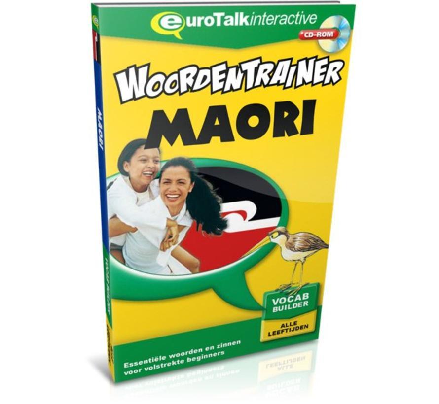 Maori voor kinderen - Woordentrainer Maori