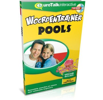 Eurotalk Woordentrainer ( Flashcards) Cursus Pools voor kinderen - Woordentrainer Pools