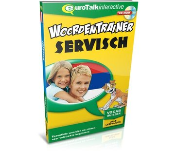 Eurotalk Woordentrainer ( Flashcards) Cursus Servisch voor kinderen - Woordentrainer Servisch