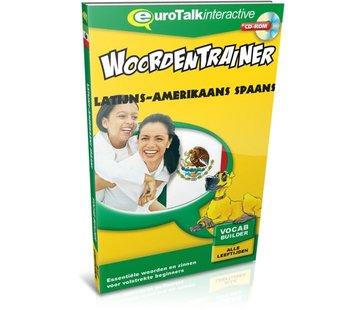 Eurotalk Woordentrainer ( Flashcards) Cursus Spaans Latijns Amerikaans voor kinderen