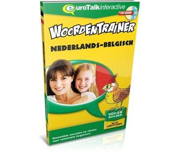 Eurotalk Woordentrainer ( Flashcards) Cursus Vlaams voor kinderen - Woordentrainer Vlaams