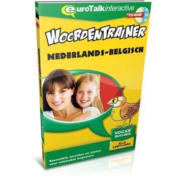 Eurotalk Woordentrainer ( Flashcards) Cursus Vlaams voor kinderen - Woordentrainer